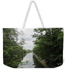 Grand Union Canal - Towards Hanger Lane Weekender Tote Bag