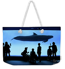 Grand Whale Weekender Tote Bag