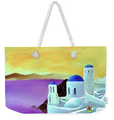 Grandeur Of Greece Weekender Tote Bag