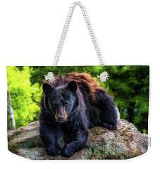 Grandfather Mountain Black Bear Weekender Tote Bag