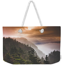 Grandfather Mountain Blue Ridge Mountains Of North Carolina Weekender Tote Bag