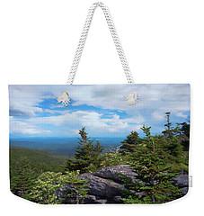 Grandfather Mountain Weekender Tote Bag by Glenn Gemmell