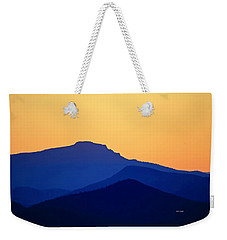 Grandfather Sunset Weekender Tote Bag by Dale R Carlson