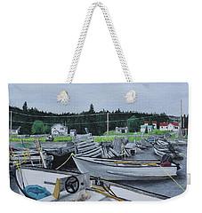 Grandfathers Wharf Weekender Tote Bag