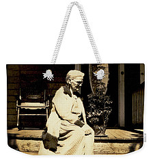 Weekender Tote Bag featuring the photograph Grandma Jennie by Paul W Faust - Impressions of Light