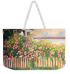 Grandmas Lake House Weekender Tote Bag