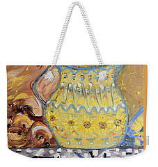 Grandma's Pitcher Weekender Tote Bag by Evelina Popilian