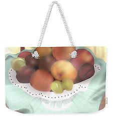 Grandma's Table Weekender Tote Bag