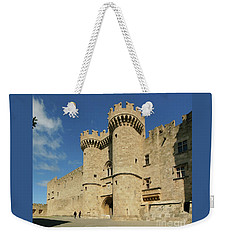 Grandmaster Palace Rhodes Island Greece 2 Weekender Tote Bag