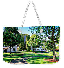 Grandstand At Keeneland Ky Weekender Tote Bag by Chris Smith