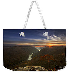 Grandview Sunrise Weekender Tote Bag