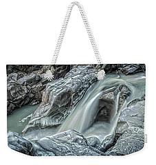 Granite Falls Blues Weekender Tote Bag by Tony Locke