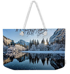 Granite Sunrise Weekender Tote Bag