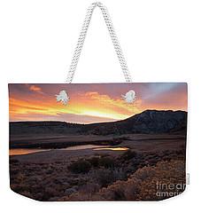 Grant Lake Sunrise Weekender Tote Bag