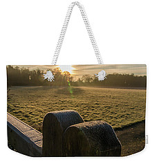 Grantchester Sunrise Weekender Tote Bag by David Warrington