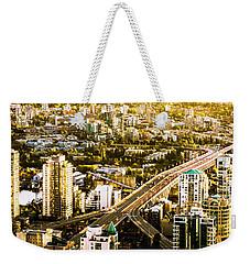 Granville Street Bridge Vancouver British Columbia Weekender Tote Bag