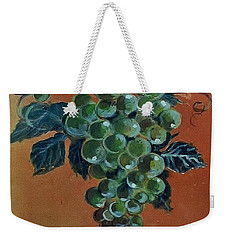 Grape Weekender Tote Bag by Andrew Drozdowicz