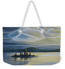 Grape Island Weekender Tote Bag