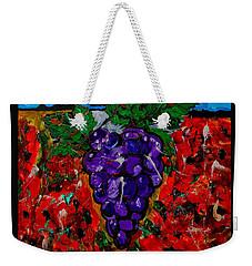 Grape Jazz Weekender Tote Bag
