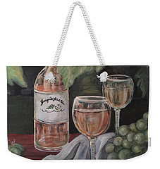 Grape Leaves And Wine Weekender Tote Bag