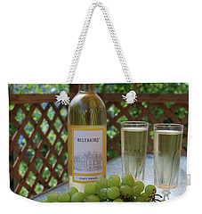 Grapes And Wine Weekender Tote Bag