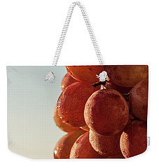 Grapes Cluster Weekender Tote Bag
