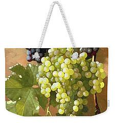 Grapes Weekender Tote Bag by Edward Chalmers Leavitt