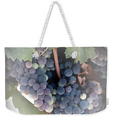 Grapes On The Vine I Weekender Tote Bag by Sherry Hallemeier