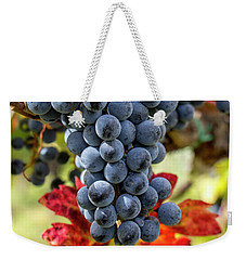 Weekender Tote Bag featuring the photograph Grapevine by Jean Haynes