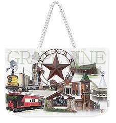 Grapevine Texas Weekender Tote Bag