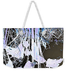 Graphic Reflection Weekender Tote Bag