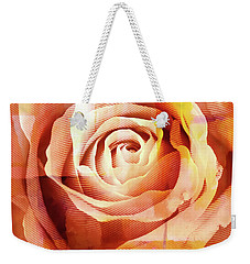 Graphic Rose Weekender Tote Bag