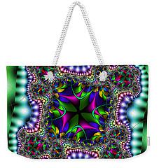 Weekender Tote Bag featuring the digital art Grapperana by Andrew Kotlinski