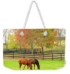 Grazing Time Weekender Tote Bag