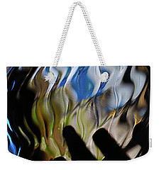Weekender Tote Bag featuring the photograph Grasping At Curves by Susan Capuano