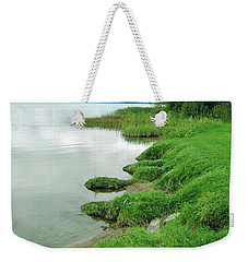 Grass And Water Weekender Tote Bag