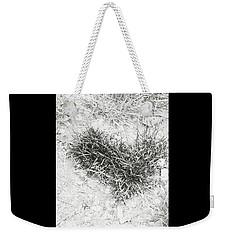 Grass Heart Weekender Tote Bag