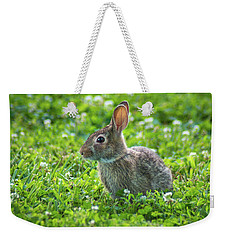 Weekender Tote Bag featuring the photograph Grass Hoppers by Bill Pevlor