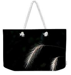 Grass In Light Weekender Tote Bag
