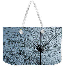 Grass Mandala Weekender Tote Bag by Jocelyn Kahawai
