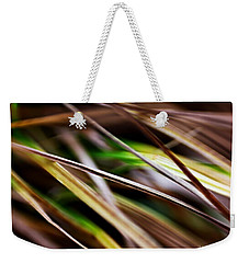 Weekender Tote Bag featuring the photograph Grass by Michaela Preston