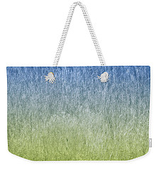 Grass On Blue And Green Weekender Tote Bag by Glenn Gemmell