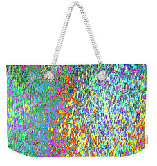 Grass On The Wall Weekender Tote Bag