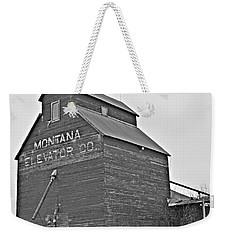 Grass Range Granary Bw Weekender Tote Bag