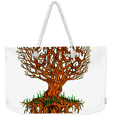 Grass Roots Weekender Tote Bag