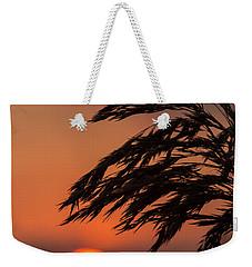 Grass Silhouette Weekender Tote Bag