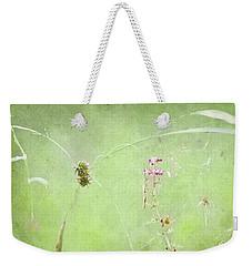 Grasses And Blooms Weekender Tote Bag