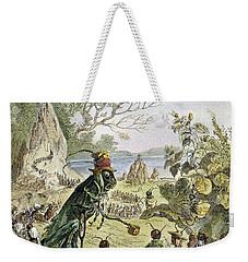 Grasshopper And Ant Weekender Tote Bag by Granger