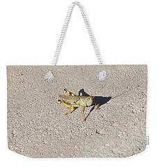 Grasshopper Curiosity Weekender Tote Bag