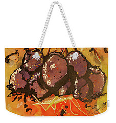 Grasshopper Weekender Tote Bag by Cynthia Powell